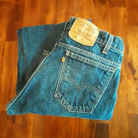 Levi's Other - Levi Strauss & Co 505 Jeans - 36x34